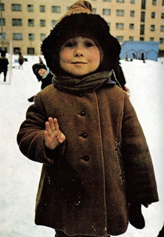 Дворы советского детства (51 фото)