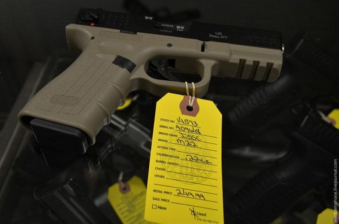 Как в Техасе продают оружие