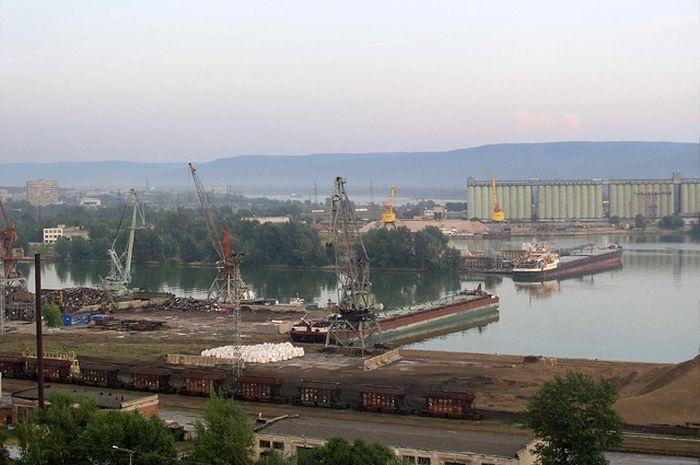 Затопленные Российские города (6 фото)