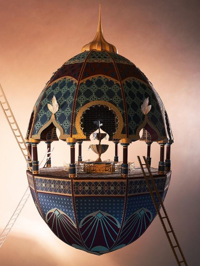 «Облачный город» - Бумажные скульптуры в марокканском стиле