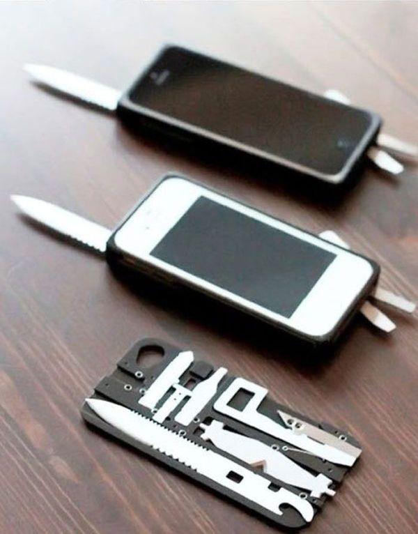 Многофункциональный чехол для iPhone (11 фото)