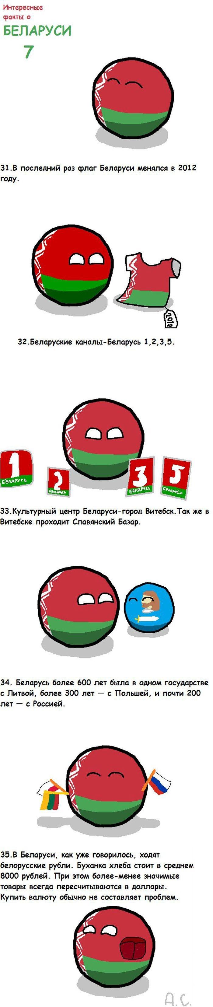 40 интересных фактов о Белоруссии