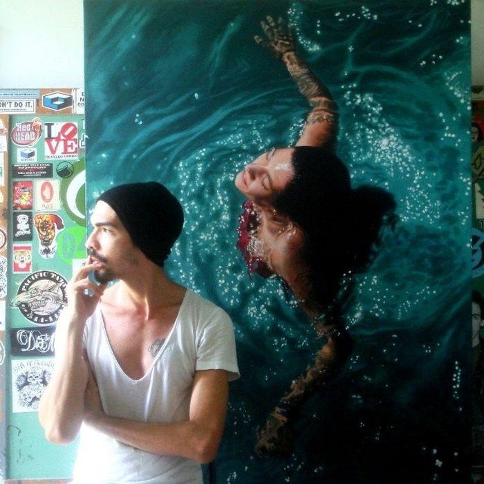 гиперреалистичные картины Густаво Сильвы (14 фото)