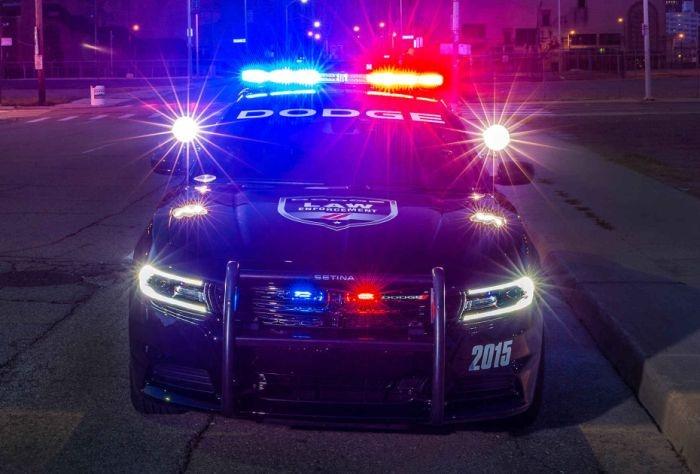 Новый полицейский автомобиль в США (6 фото)
