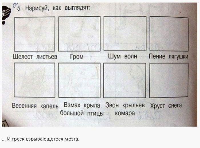 Идиотизмы в школьных учебниках (25 фото)