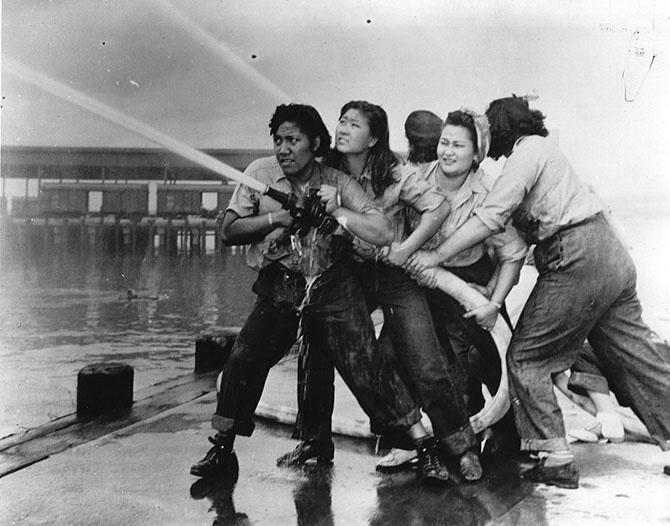Пожары в перл харбор ок 1941 1945 гг