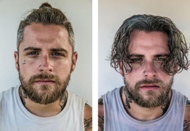 Рок-музыканты до и после выступления (7 фото)