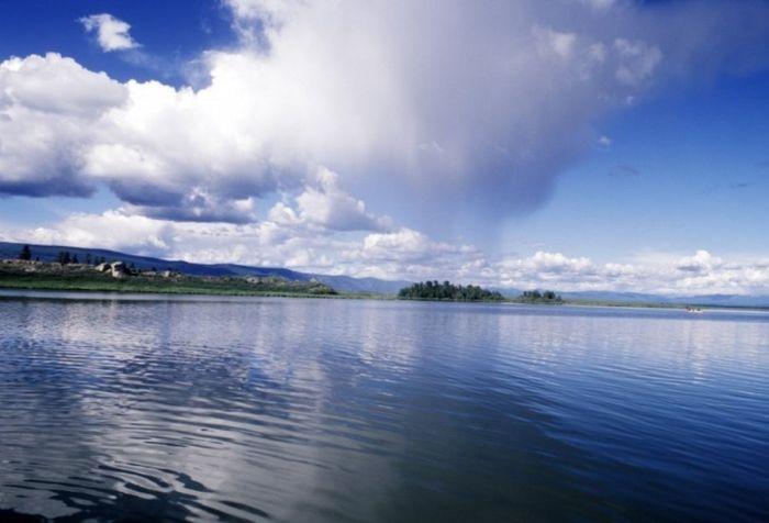 Тайны сибирского озера Тере-Холь (8 фото)