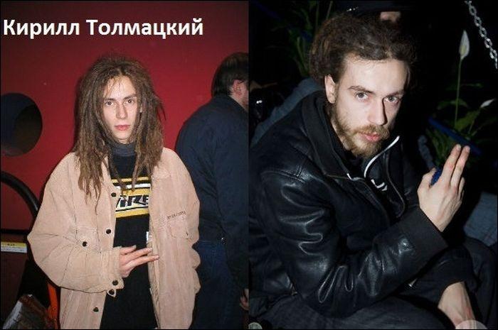 """поп-исполнители 90-х """"тогда и сейчас"""" (10 фото)"""