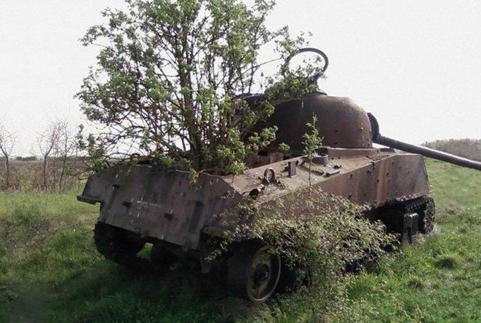 Подбитые танки в разных частях мира (44 фото)