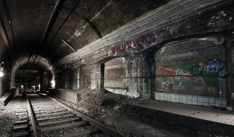 Станции призраки по всему миру, которых нет ни на одной карте