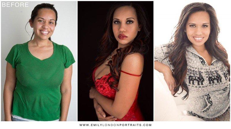 Прическа и макияж превращает любую девушку в красавицу