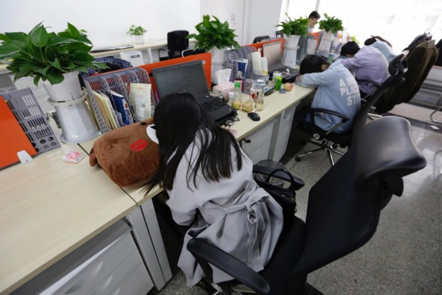 Как живут китайские программисты на работе