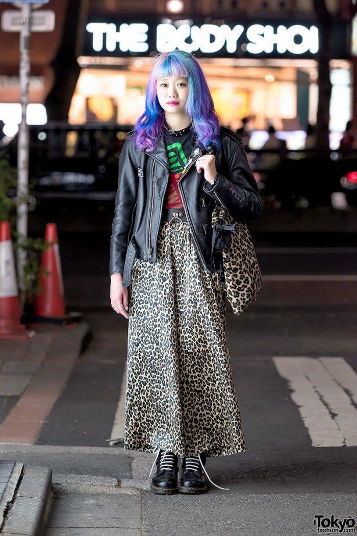 Мода на улицах Токио