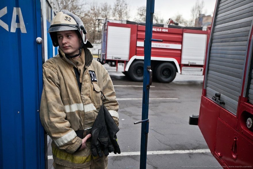 Пожарная часть - как все устроено