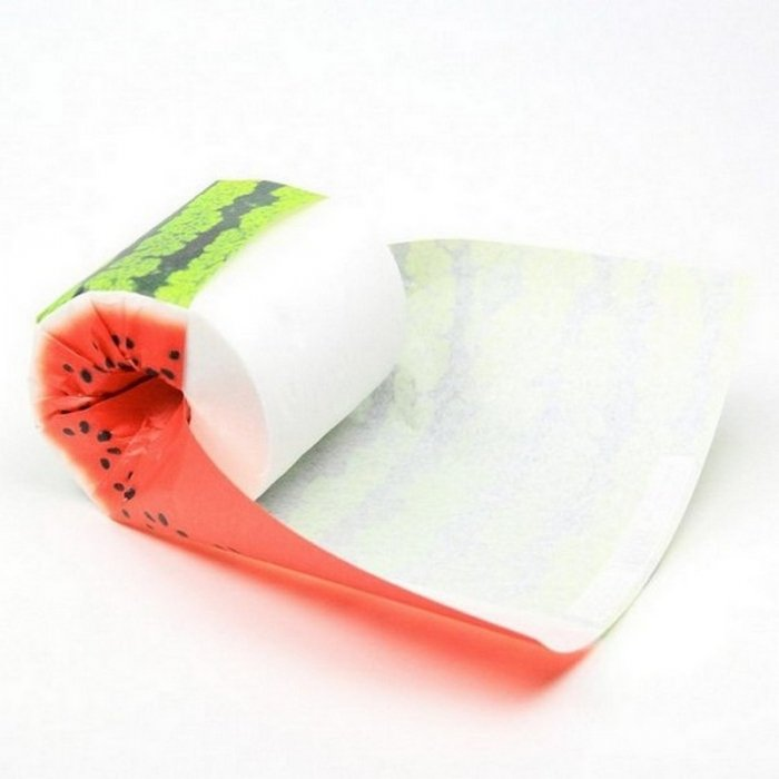 Фруктовая туалетная бумага