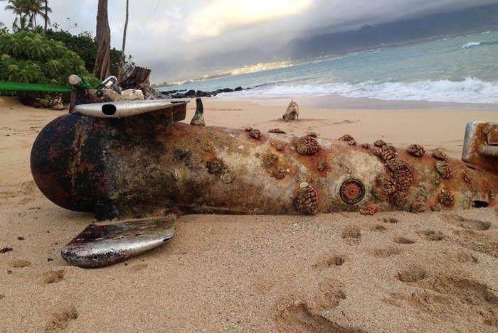 Эхо войны обнаружили на Гавайях