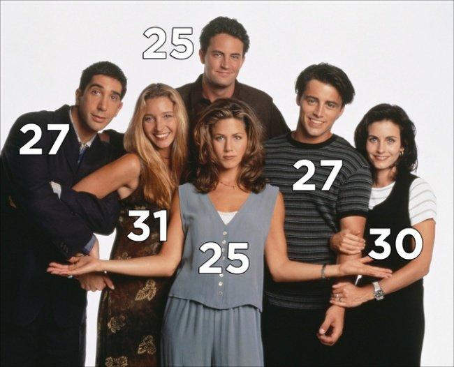 25 весёлых и любопытных фактов о сериале «Друзья»