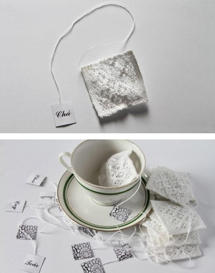 Крутые необычные чайные пакетики