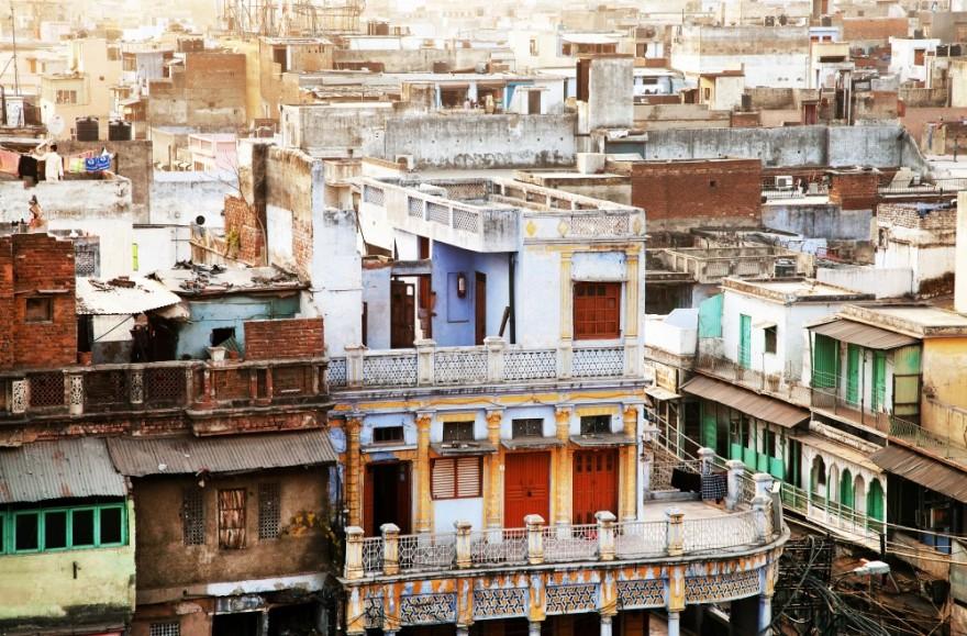 Спальные районы в разных частях мира