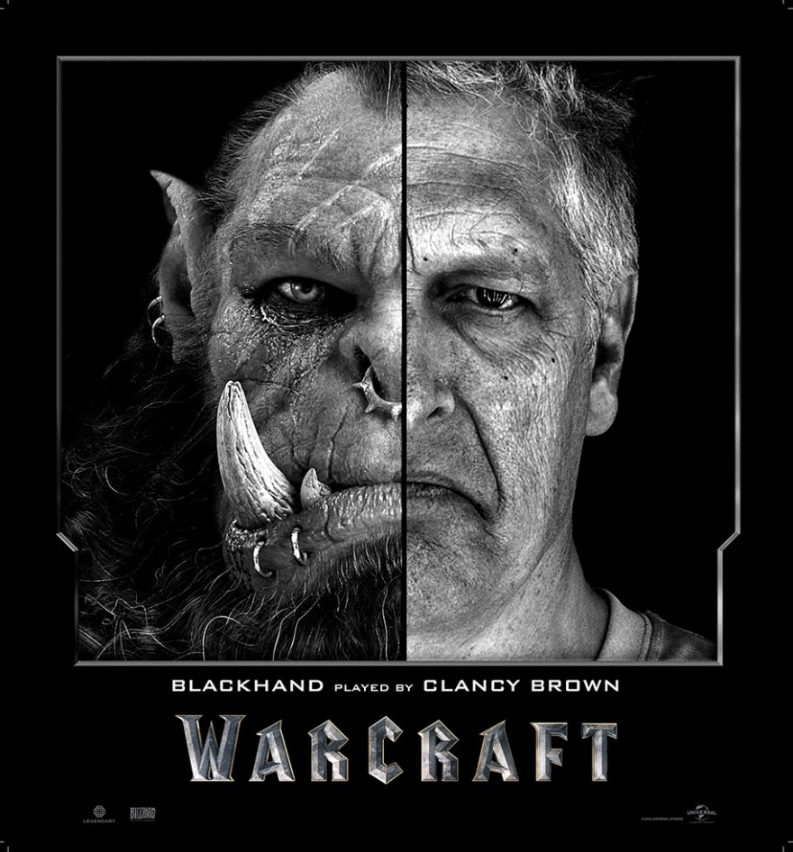 Актеры фильма Warcraft в образе и без него