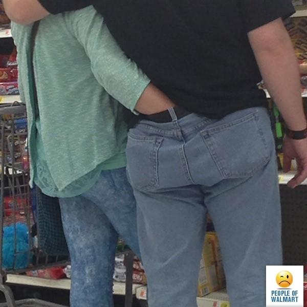 Фрики покупатели Walmart