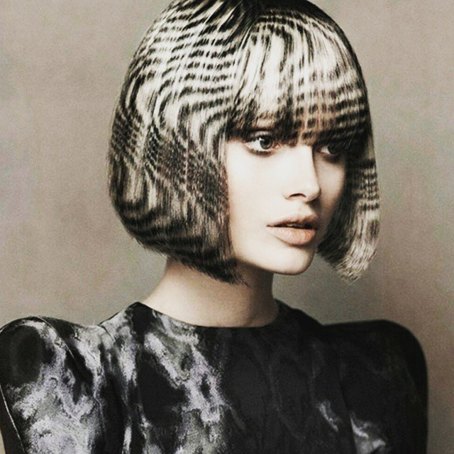 Новый модный тренд Instagram #hairstencil