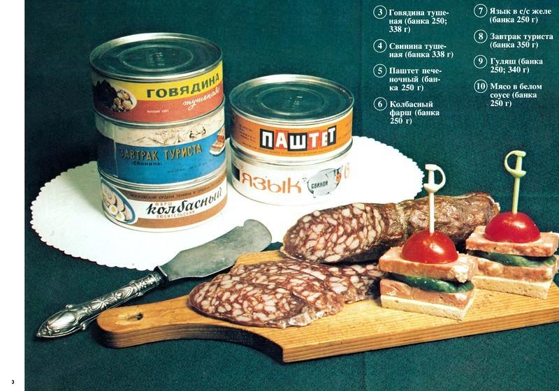 Еда в СССР