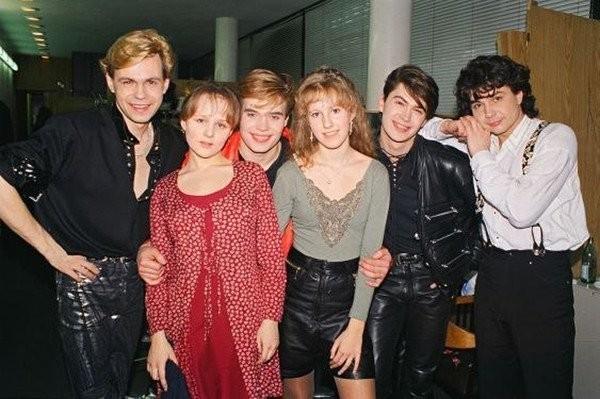 Звёзды российского шоу-бизнеса в 1990-ых
