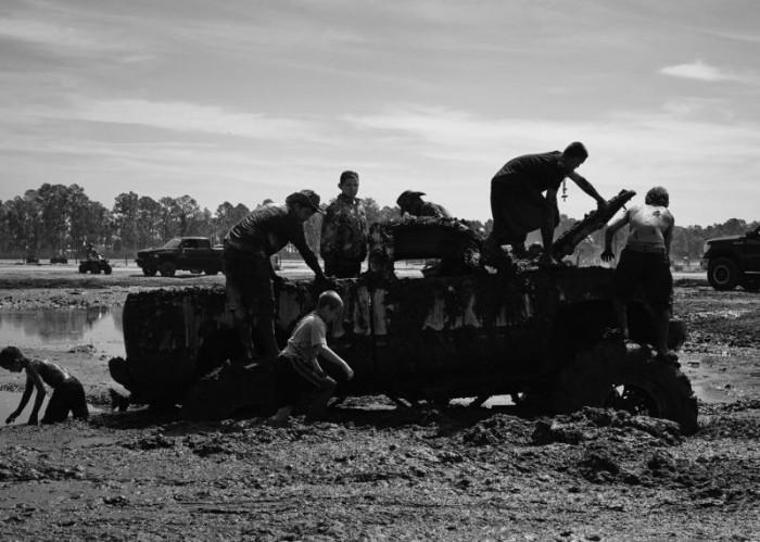 Оттопыривание Американской деревенщины
