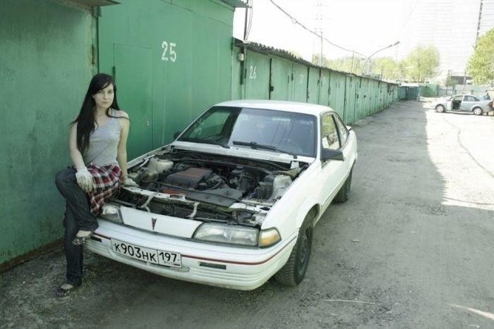 Знакомьтесь Алиса женщина-механик