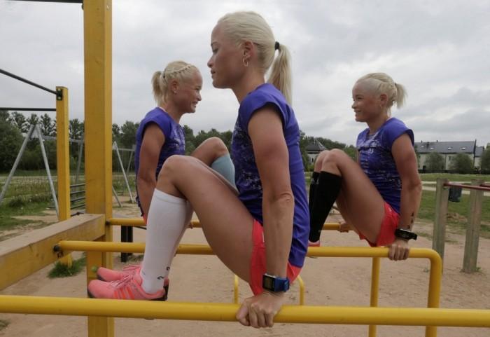Эстонские тройняшки едут покорять олимпиаду в РИО