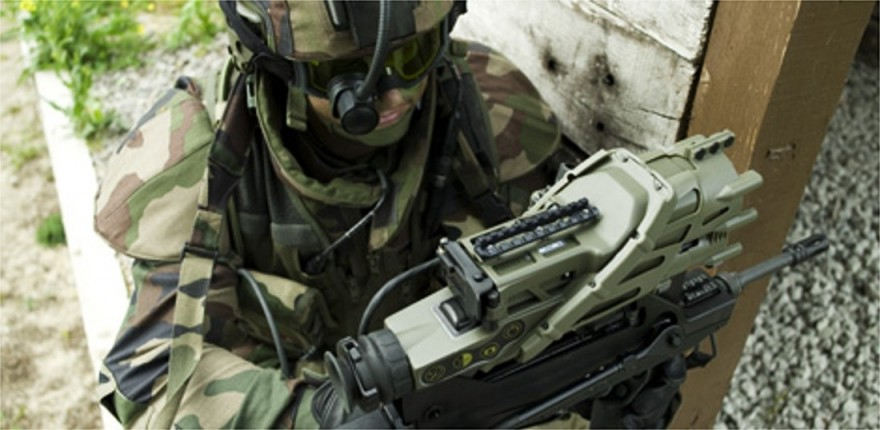 Экипировка современных солдат