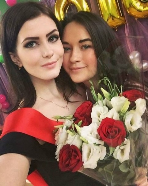 Красивые выпускницы 2016 года