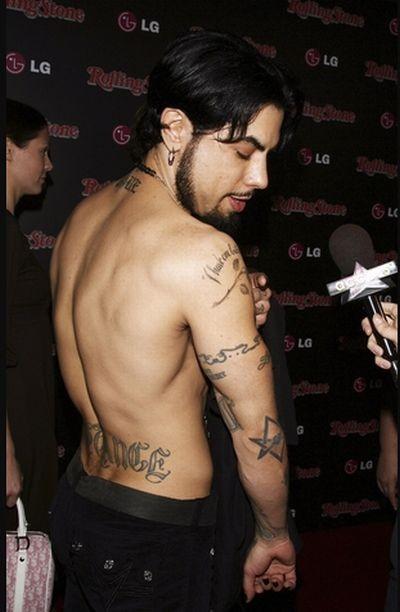 Татуировки знаменитостей (75 фото)