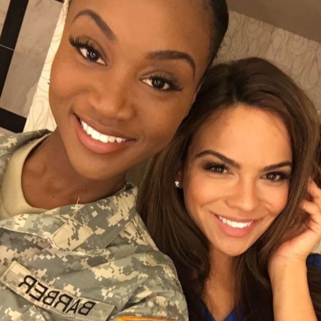 26-летняя военнослужащая Дешона Барбер одержала победу в конкурсе красоты «Мисс США» (17 фото)