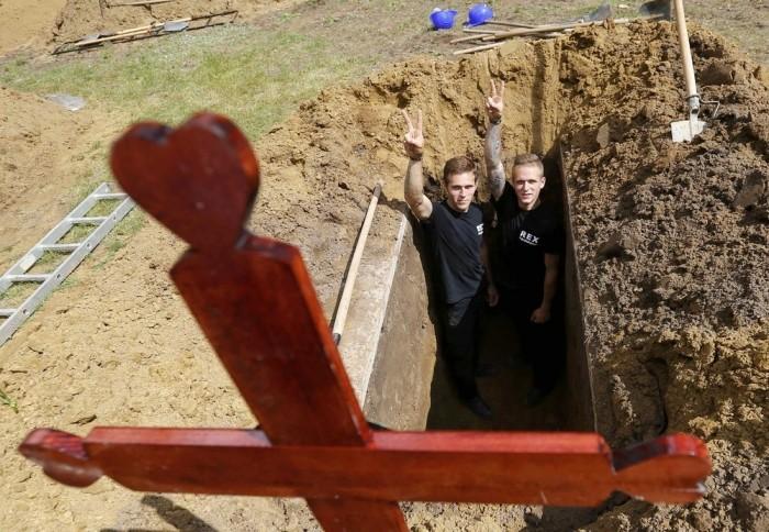В Венгрии прошел первый национальный конкурс могильщиков