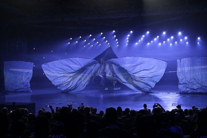 Новейший отечественный пассажирский самолет МС-21
