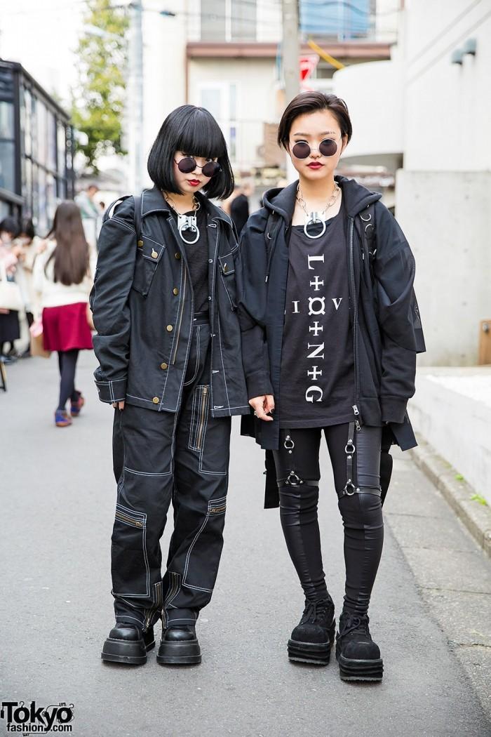 Модники на улицах Токио