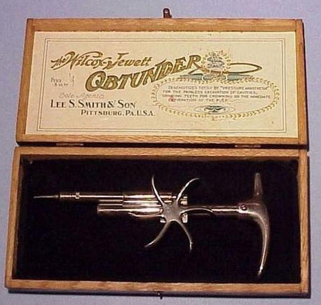 Винтажные стоматологические инструменты, наводящие ужас (15 фото)
