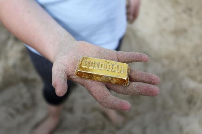 Золотая лихорадка от немецкого художника (9 фото)
