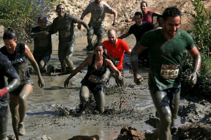 Грязевые гонки (Mud Race) в Испании