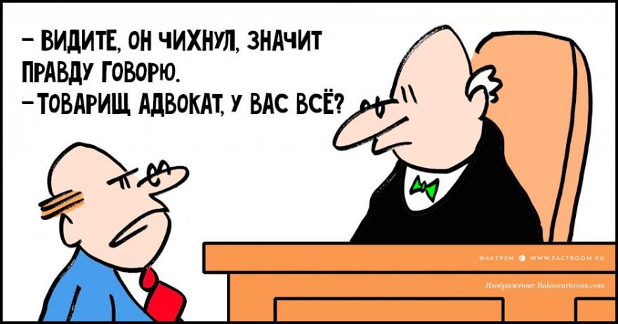 15 анекдотов про адвокатов