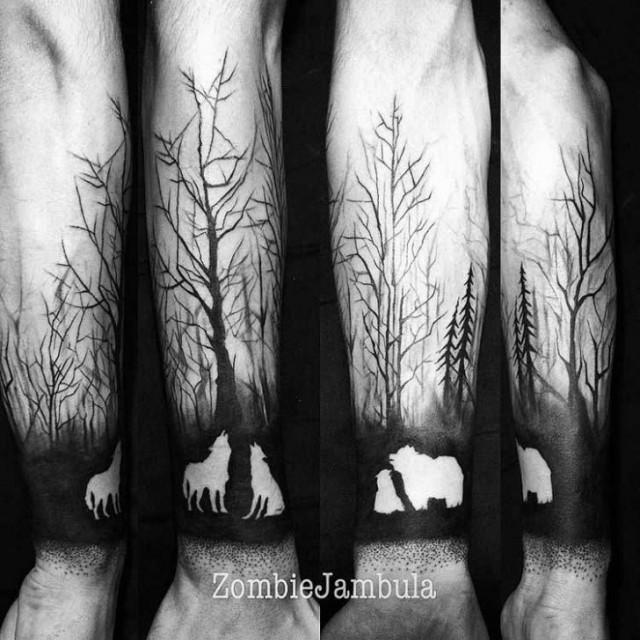 Современное искусство татуировки