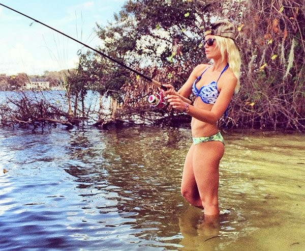 Девушки на рыбалке