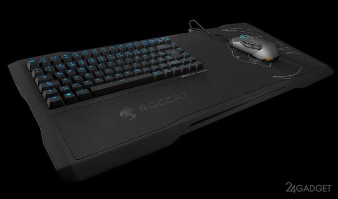 Геймерская клавиатура для гостиной (5 фото + видео)