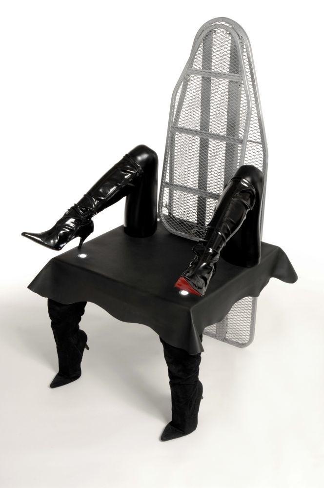 Странные дизайнерские кресла и стулья