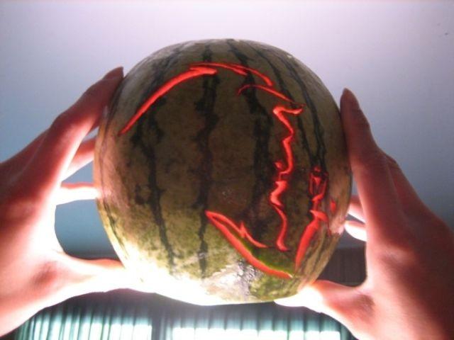 Вырезка арбузов (82 фото)
