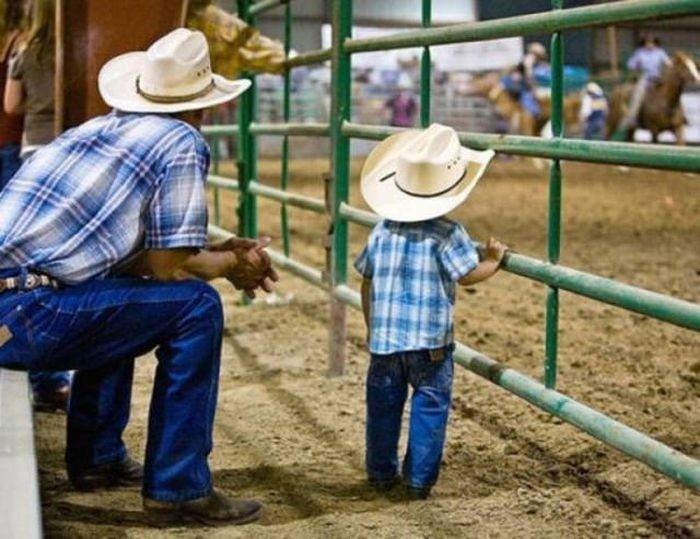 Дети, которые полностью пошли в своих отцов
