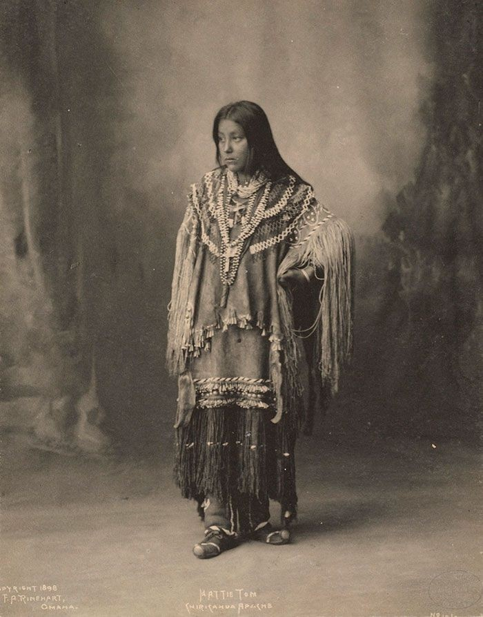 Специфическая красота коренных американок